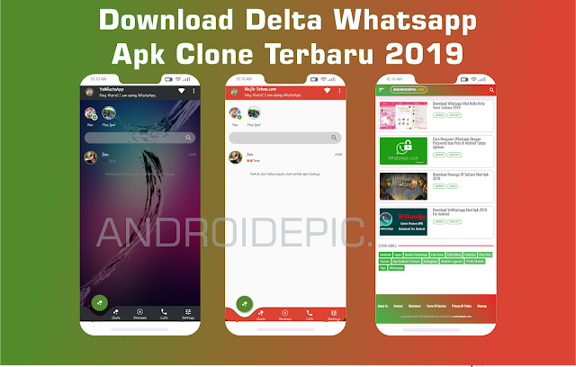 Download Delta Whatsapp Apk Clone Terbaru 2019 (Bisa Bom Chat Tanpa Root)