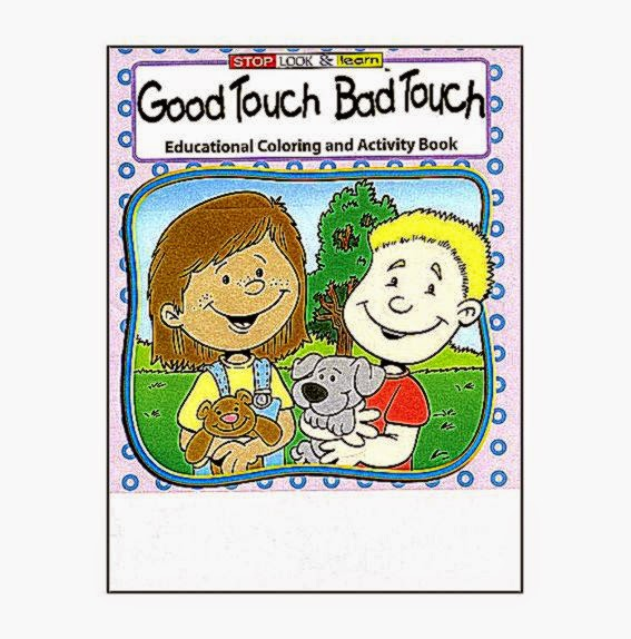 Good Touch Bad An Educational Coloring And Activities Book