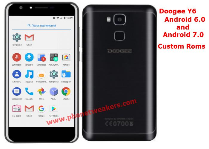 Download][Firmware] All Doogee Y6 Custom Roms Collections