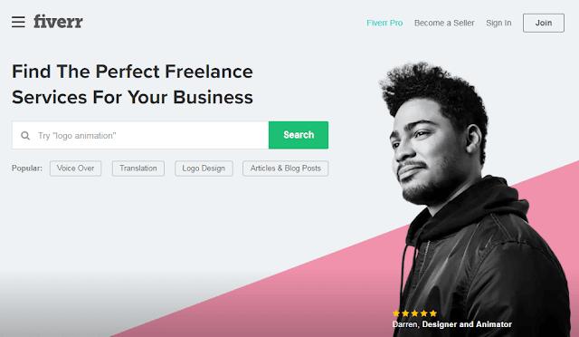 Fiverr (Lowongan Kerja Online) Beri Penilaian!