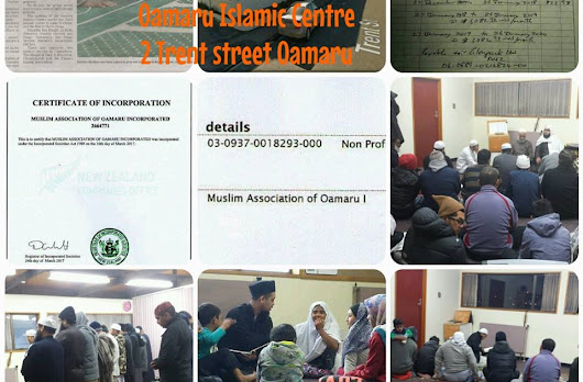 Summary of Oamaru Islamic Centre Financial Report