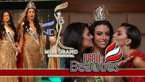 Marjorie Marcelle es Miss Grand Brazil 2019