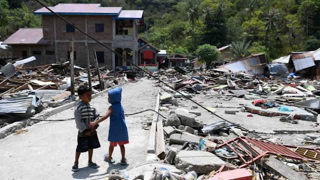Korban Gempa dan Tsunami Sulteng Capai 2.091 Jiwa