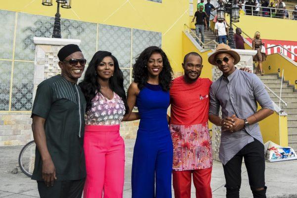 Yvonne Okoro's Ghana Must Go Movie Premieres In Lagos Nigeria