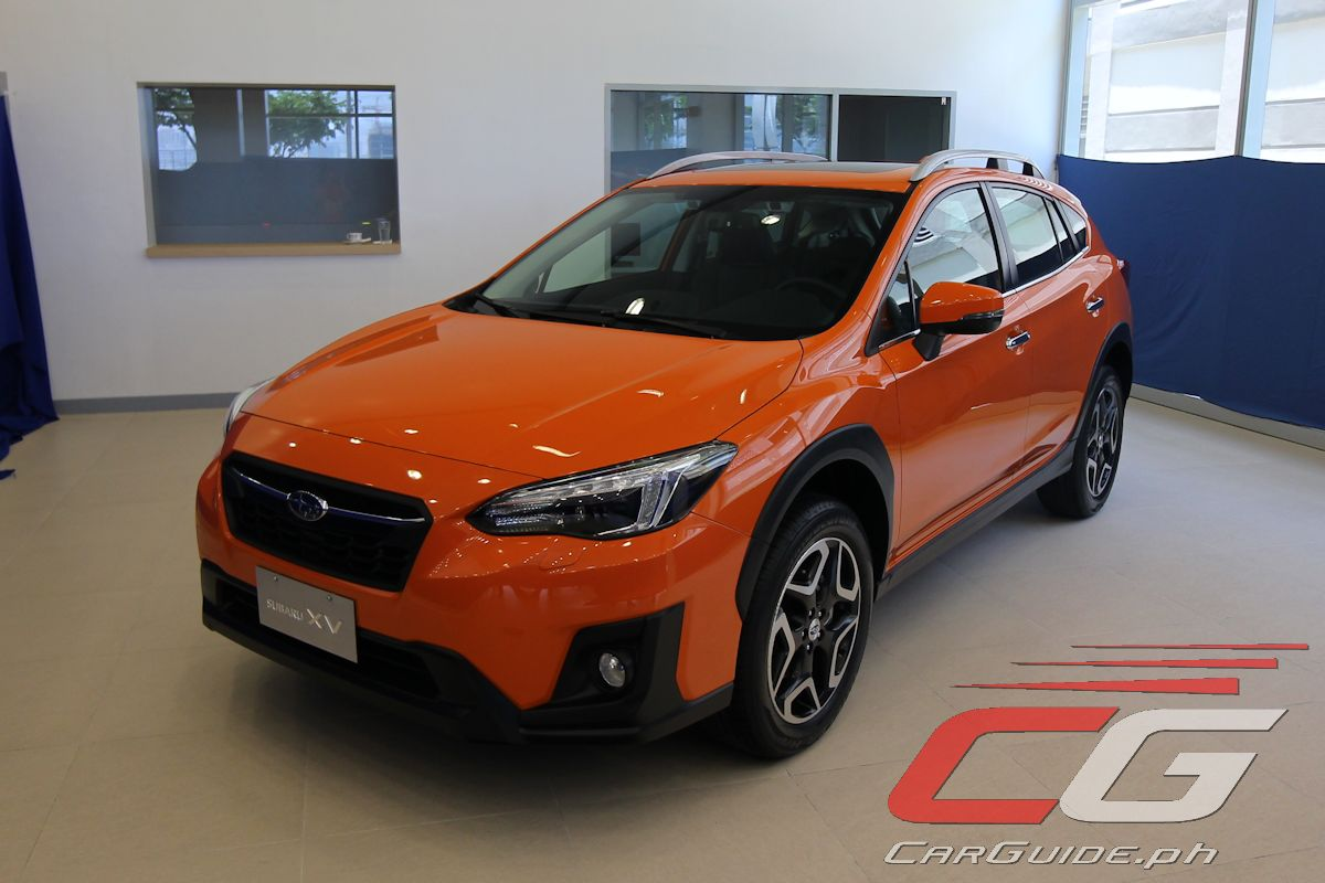 motor image pilipinas launches 2018 subaru xv w specs. Black Bedroom Furniture Sets. Home Design Ideas