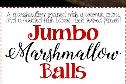 Jumbo Marshmallow Balls