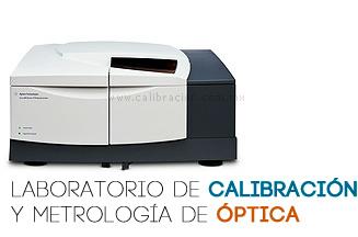 Calibración Espectrofotómetro UV VIS