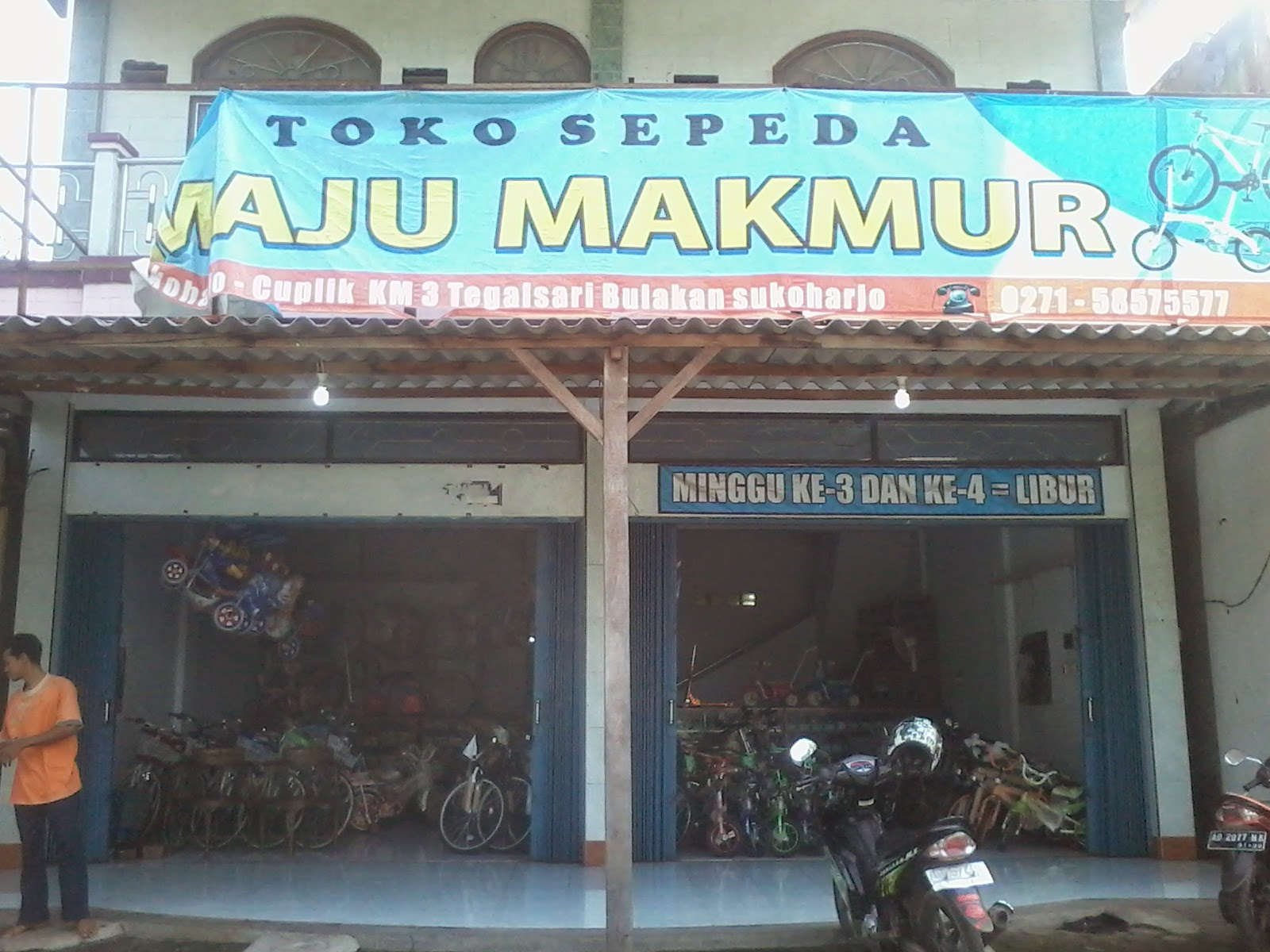 Toko sepeda murah di pasar cuplik Nugroho Bloger's