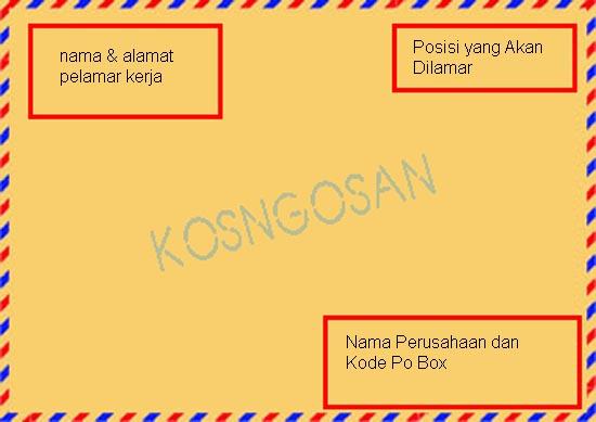 Cara Mengirim Surat Lamaran Kerja Lewat Kantor Pos Dan Po Box Kosngosan