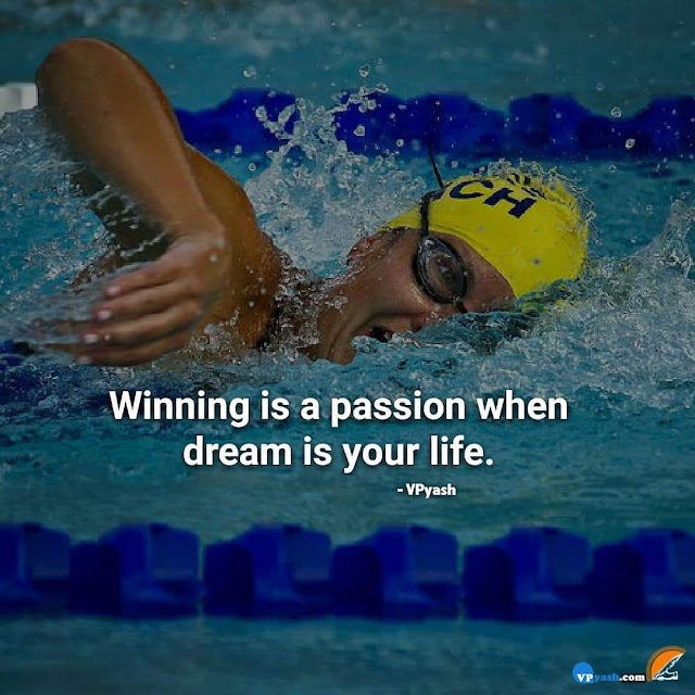 Winning is a Passion