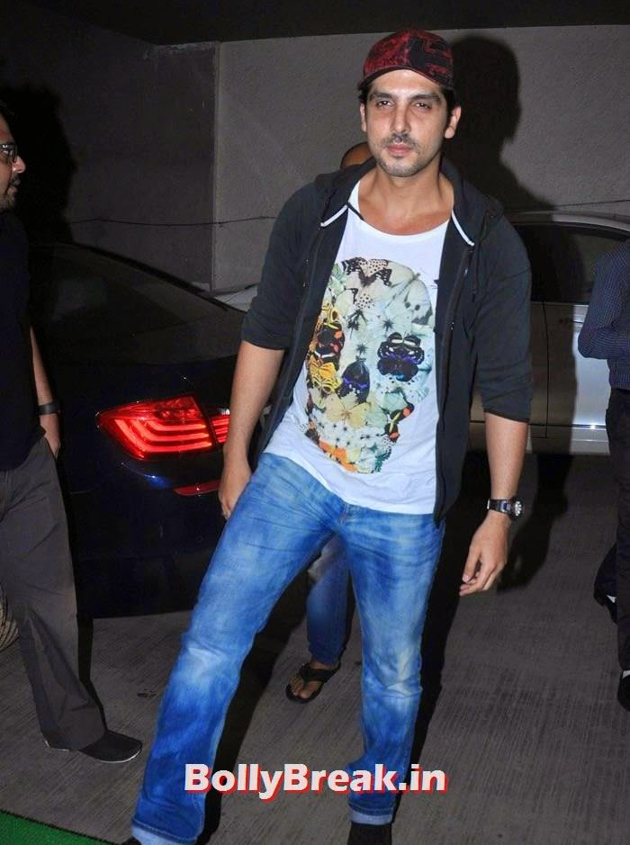 Zayed Khan, 'Humshakals' Movie Special Screening Pics