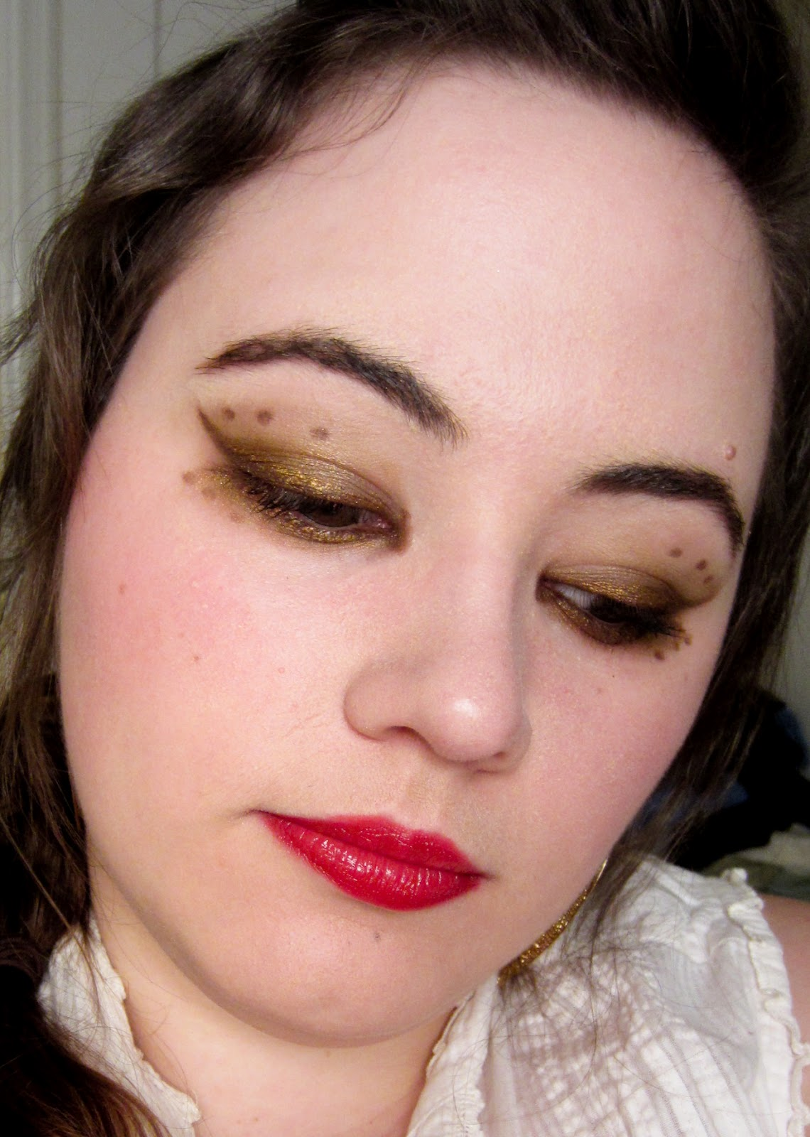 Makeup For Blue Eyes To Define The Look And Shade Of The Eyes: MAKEUP FANCY: Becky's Steampunk Inspired Look