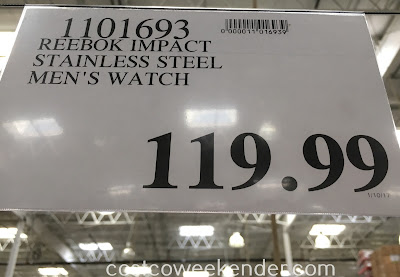 Deal for the Reebok Impact Chrono Men's Watch (model RD-IMP-G6-S1IB-1B) at Costco