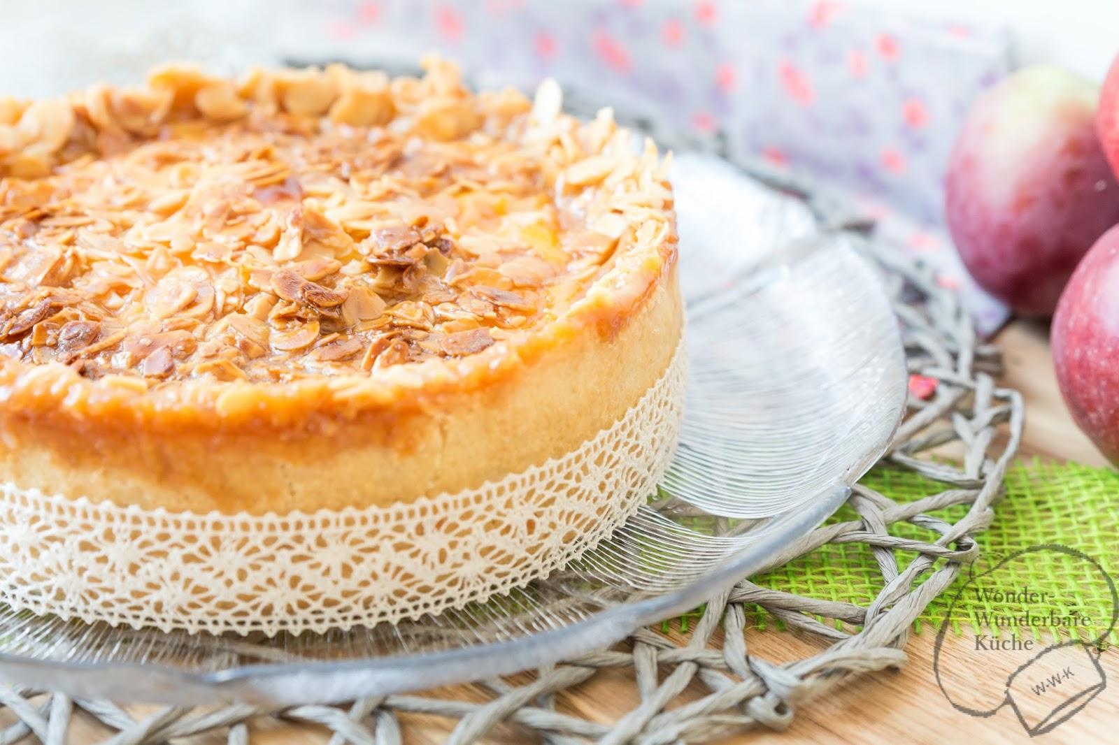 Kleine Kuchen Florentiner Apfelkuchen