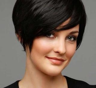 model rambut pendek untuk wajah kotak