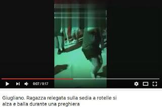Video Miracolo avvenuto a Giugliano, Noemi cammina