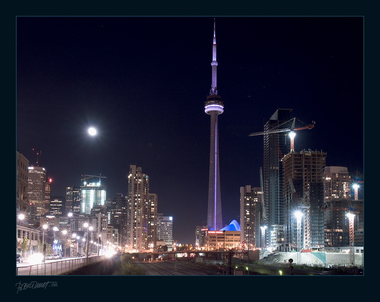 Encyclopedia: CN Tower at Night