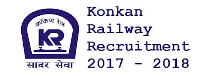 Konkan Railway Recruitment 2017 - 2018
