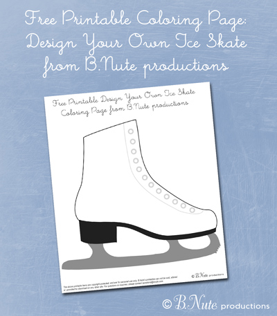 Bnute Productions Free Printable Coloring Page Design Your Own Ice