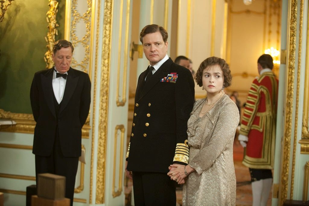 the kings speech geoffrey rush colin firth helena bonham carter