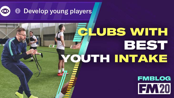5 Clubs With Best Youth Intake FM20
