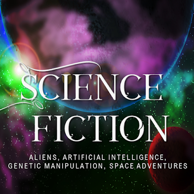 Science Fiction, Scifi premade covers