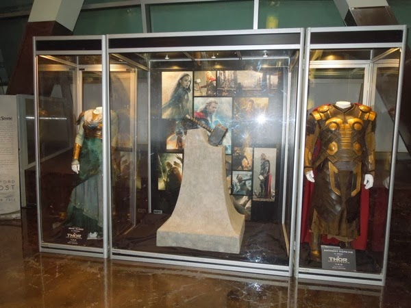 Thor Dark World movie costume exhibit