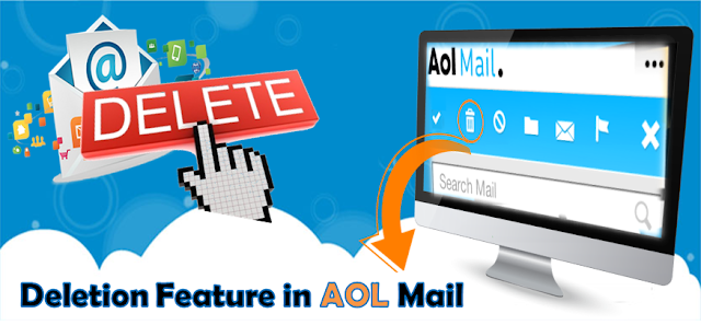deletion feature in aol mail