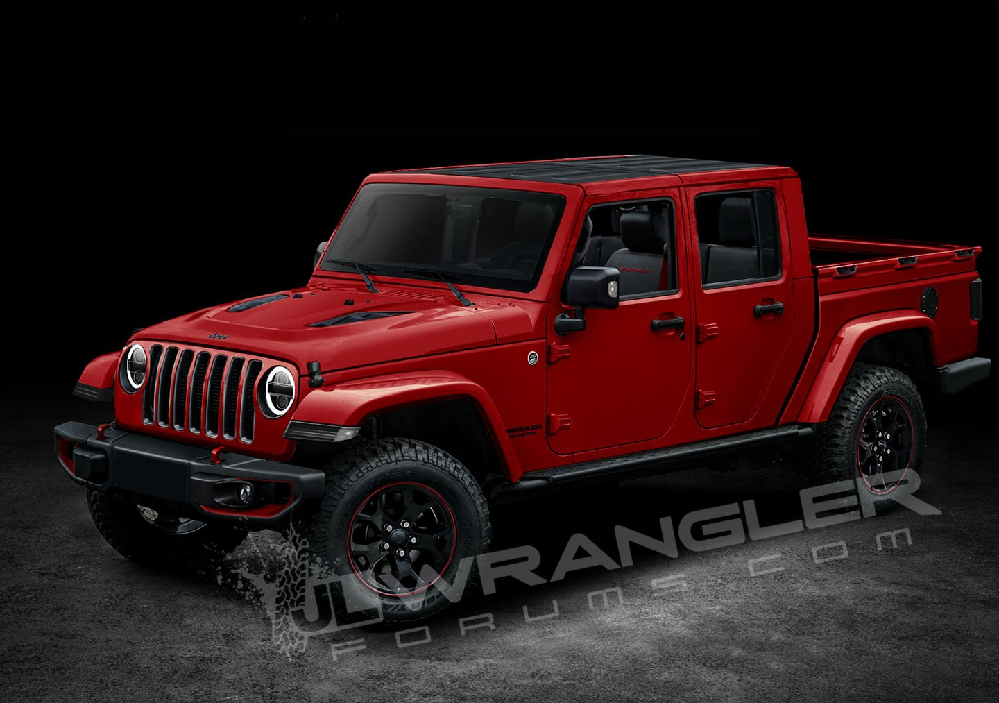 2019 Jeep Wrangler Pickup Looks Scrambler-rific In Latest ...