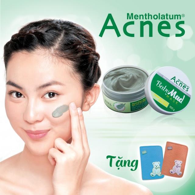 Review Acnes Baby Mud sữa rửa mặt và mặt nạ bùn non thanh lọc làn da sau mụn, acnes, acnes baby mud, sữa rửa mặt acnes, sữa rửa mặt bùn non acnes, kem trị mụn acnes, acnes trị mụn