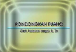 Rondongkan Puang (Trio Bambana Sion)