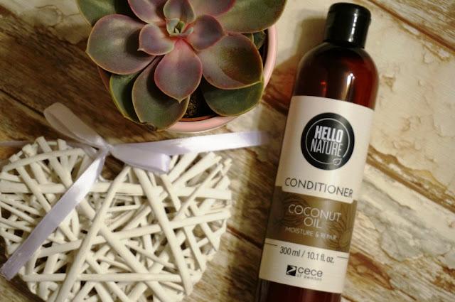 Odżywka olejek kokosowy Hello Nature Cece of Sweden - nawilżenie i odbudowa włosów