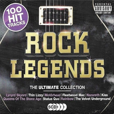 Rock Legends: The Ultimate Collection 2018 5CD Mp3 320 Kbps