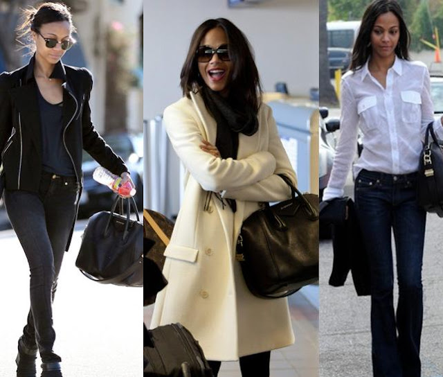 Antigona Bag Givenchy Zoe Saldana