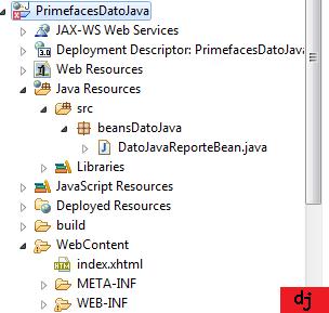 Primefaces Estructura