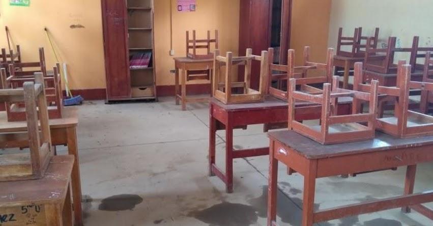 Más de 50 colegios de la DRE Tumbes afectados por lluvias y activación de quebradas