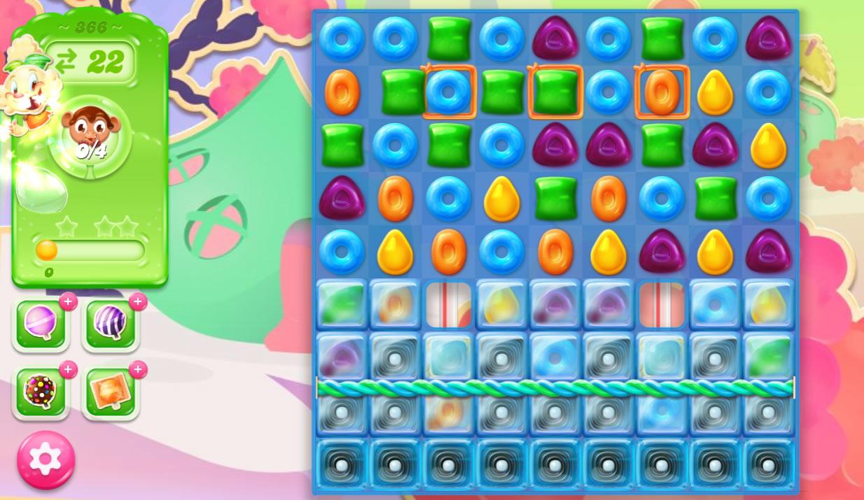 Candy Crush Jelly Saga 366