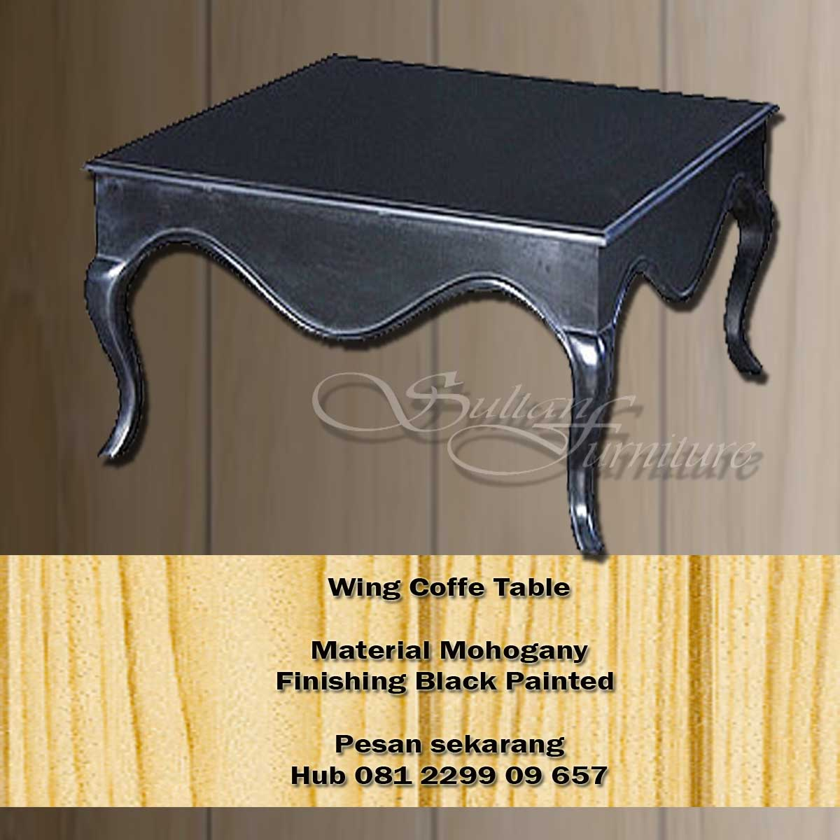 Jual Furniture Classic Cofffe Table Indonesia French