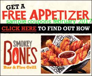 Smokey Bones coupons february