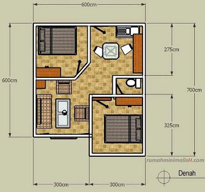 Desain denah Dapur Untuk Ruang Sempit Rumah Minimalis