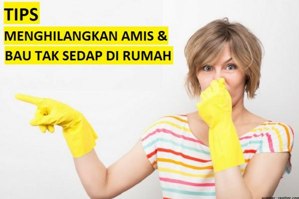 Cara Mudah dan Cepat Hilangkan Bau Amis dalam Ruangan