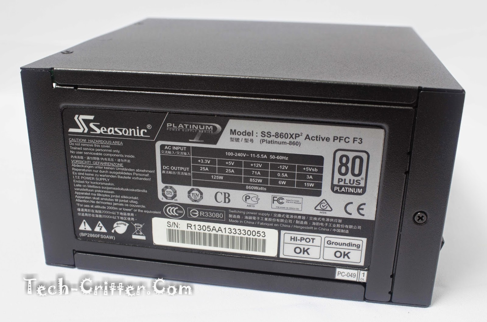 Unboxing & Overview: Seasonic Platinum Series 860W Power Supply Unit 64