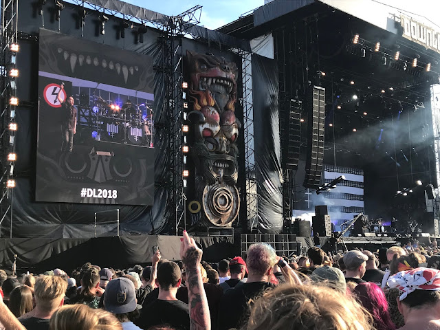 Marilyn Manson at Download UK 2018