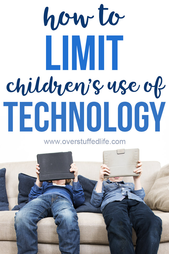 Why should I limit my child's screen time? Limiting children's use of tecnhology is tricky business. Let this amazing device help you do it so you don't have to be the bad guy and you will still see the benefits of limiting screen time for your kids!