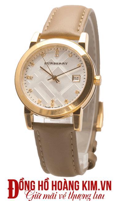 Đồng hồ nữ dây da giá rẻ 2016