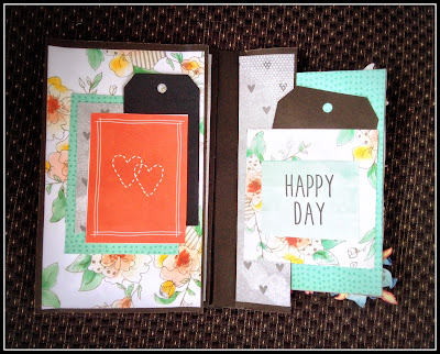 Romantic/love/anniversary handmade personalised albums/scrapbooks