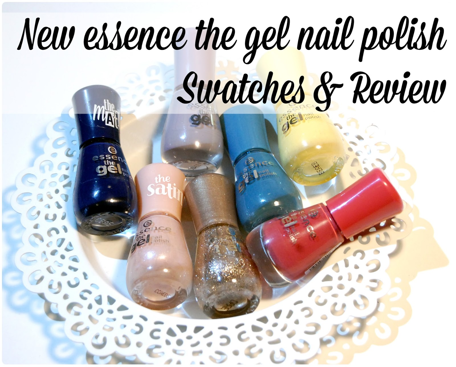 Gemstone Beauty: New essence the gel nail polish: Swatches + Review