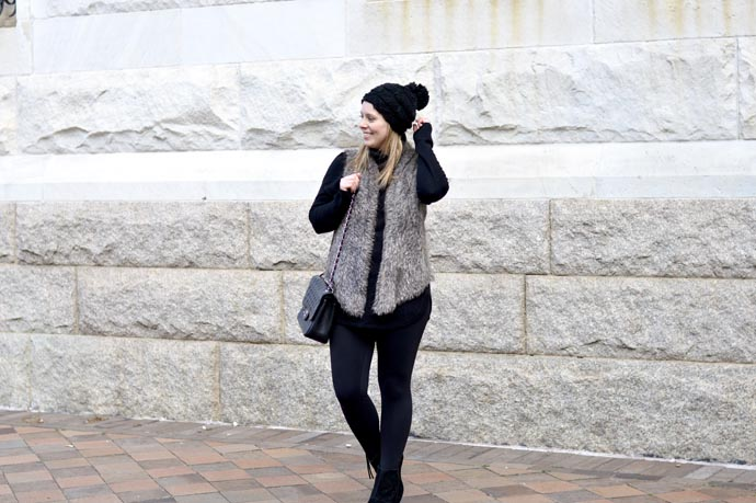cold-weather-outfit-vest-and-beanie