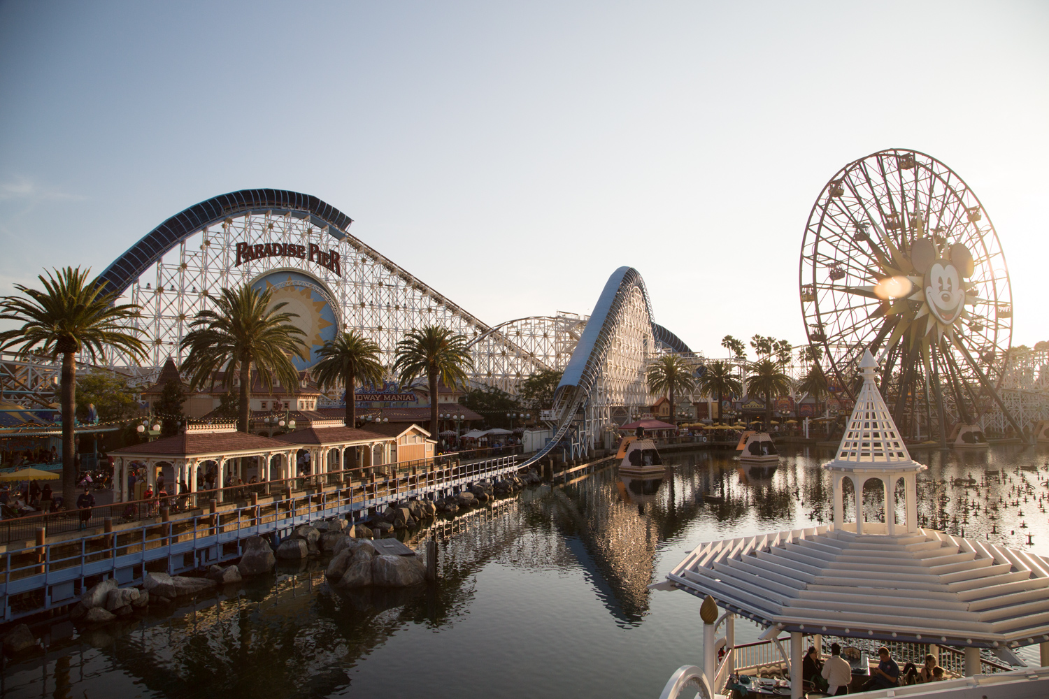Disney California Adventure Theme Park