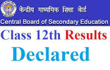 class 12 results declared 2016